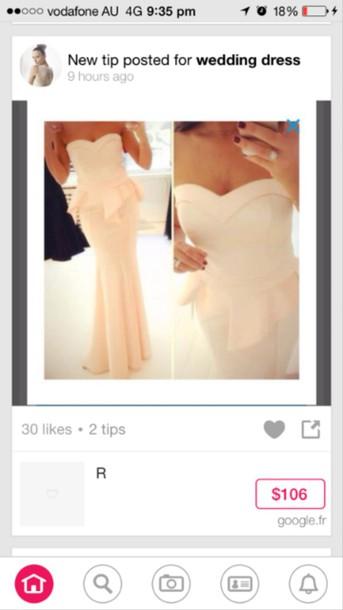 dress baby pink peplum peplum dress bridesmaid peplum bridesmaid baby pink bridesmaid dress
