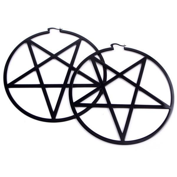 Pentagram Earrings [B] ? KILLSTAR