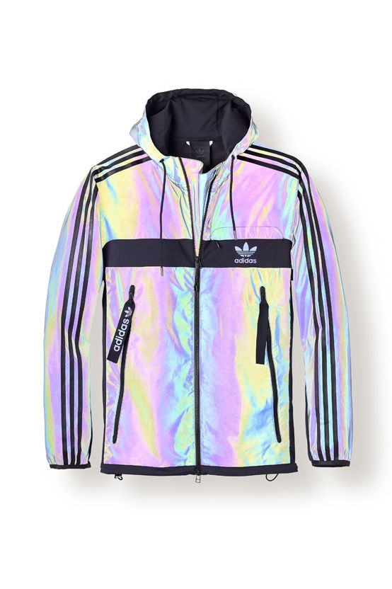 wholesale dealer 8e1d2 5d202 adidas Originals Heritage Reborn   Xeno pack   holographic jacket   iridescent  jacket   clothing ...