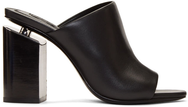 Alexander Wang mules black shoes