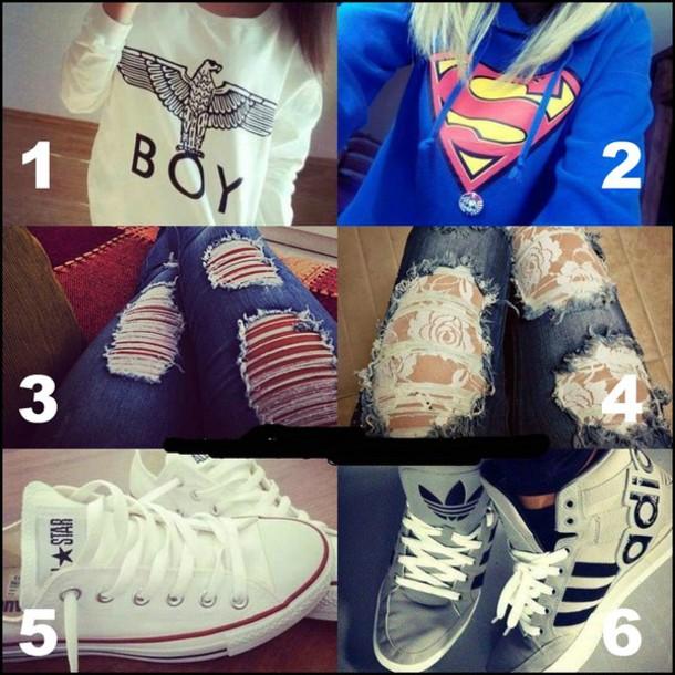 jeans clothes number4 sas cry sadlife x3