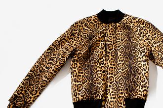 varsity jacket kanye west leopard jacket givenchy jacket jacket