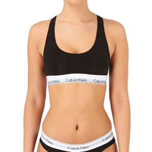 6745d0c7694 Calvin Klein Modern Cotton Bralet Sports Bra - Black