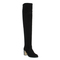Office nomad over knee boot black suede - knee boots