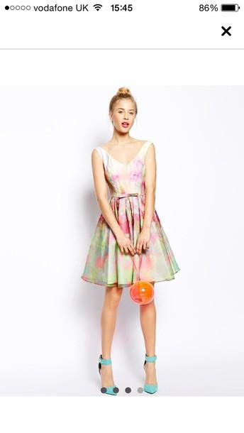 dress cute summer floral dress