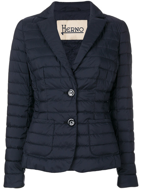 Herno blazer women blue jacket