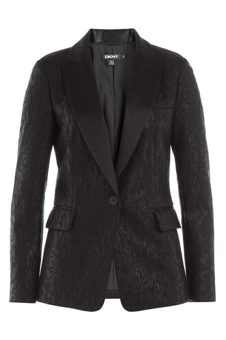 blazer lace black jacket
