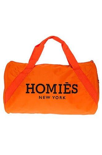 bag bag homies homies homies! homies sweatshirt new york city beautiful bags backpack cool bags old school fashion orange