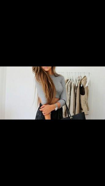 shirt color gray top