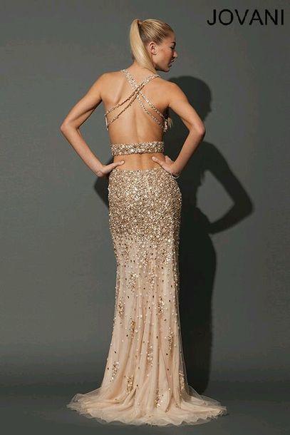 843e55683ef dress gold prom prom dress long dress jovani jovani dress jovani prom dress  backless gold prom
