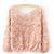 1pcs Popular Women Lace Rose Floral 3D Mesh Pullover Jumper Sweater Shirt Blouse | eBay