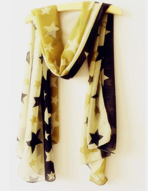 scarf stars pattern