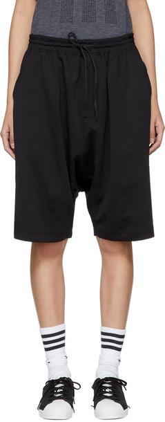 Y-3 shorts stripes black