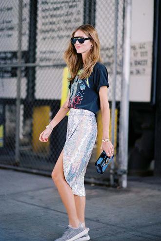 vanessa jackman blogger skirt dress t-shirt bag