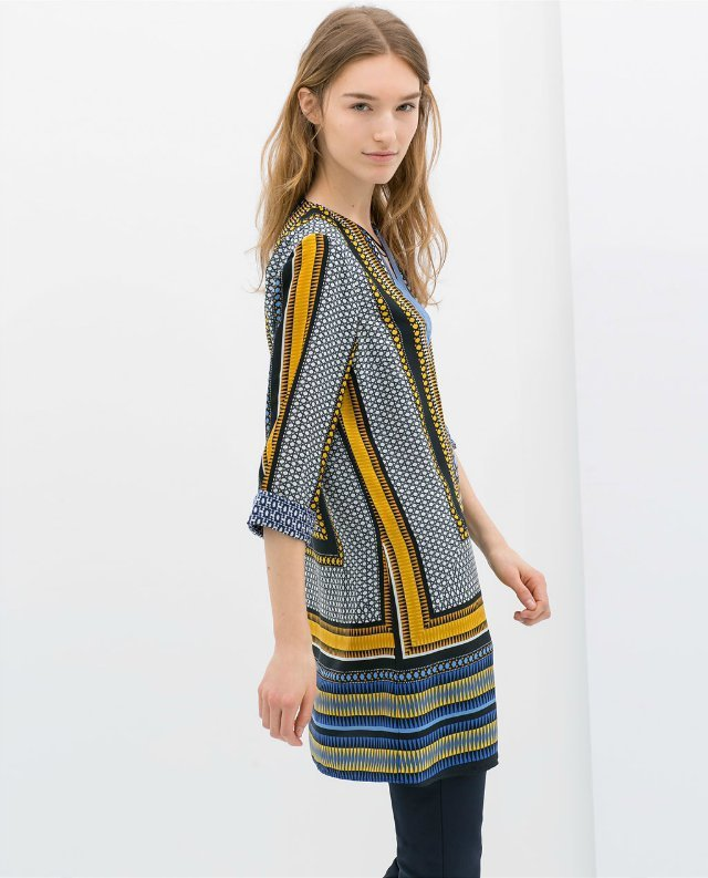 Aliexpress.com : Buy Spring Summer Women ZA Dress New European PRINTED KAFTAN contrast printing scarf za dress Lady Top brand Quality from Reliable scarf suppliers on Vogue Official Online Shop