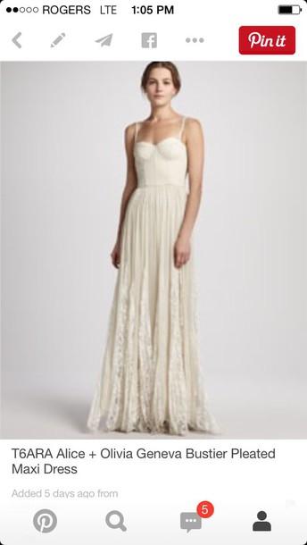 dress alice+olivia