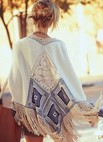 cardigan kimono festival summer dress summer blonde hair boho dress boho hipster bag