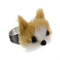 Adjustable Faux Fur Dog Ring, Novelty, all, Jewellery, Rings, Statement, Inspire Me... Fashion trends, accessories and jewellery for young women