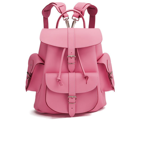bag grafea leather backpack backpack pink pink leather backpack pink bag