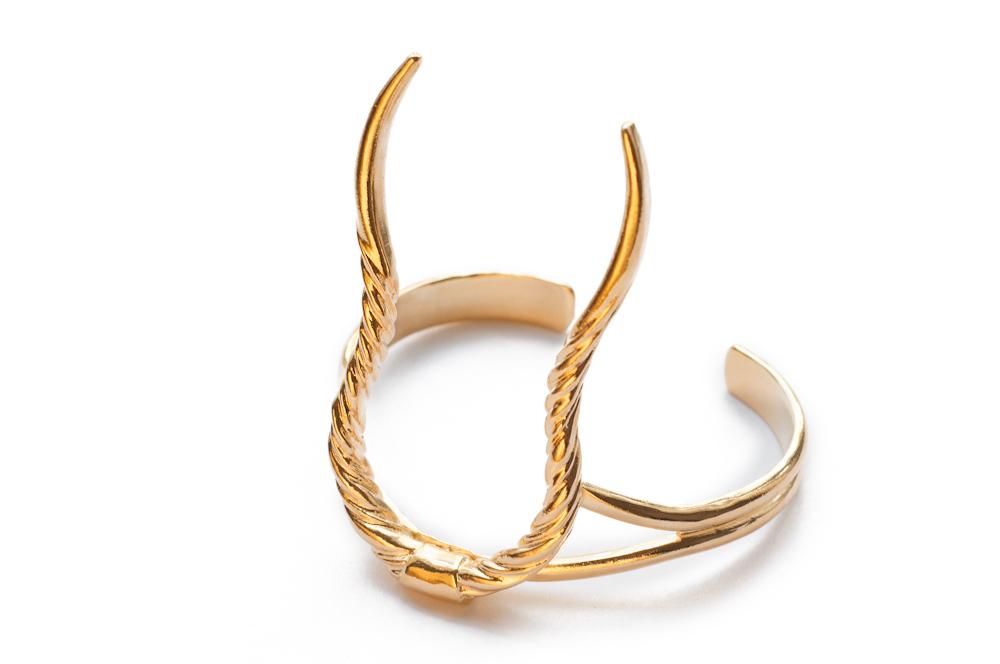 Eland Horn Cuff / Psyche Jewelry