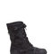 Hole story distressed combat boots