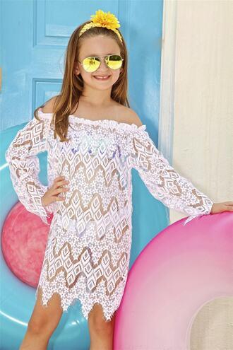 dress designer kids little peixoto white cover up bikiniluxe