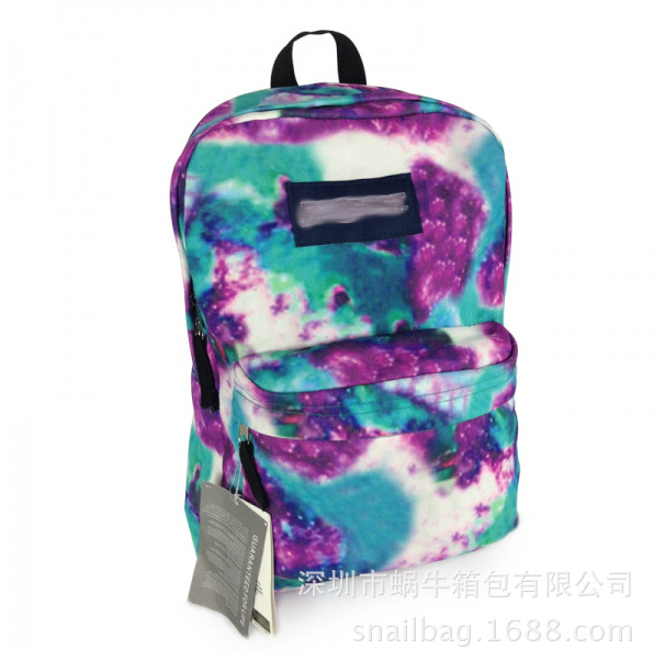 Harajuku shoulder bag hit the color trend tie dye skateboard backpack school backpacks back pack tennis bag-in Casual Daypacks from Luggage & Bags on Aliexpress.com