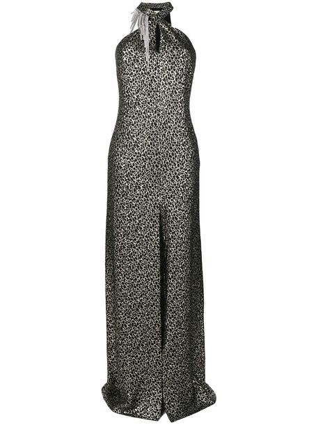 lanvin dress embellished dress women embellished black silk