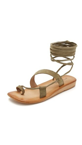 sandals khaki shoes