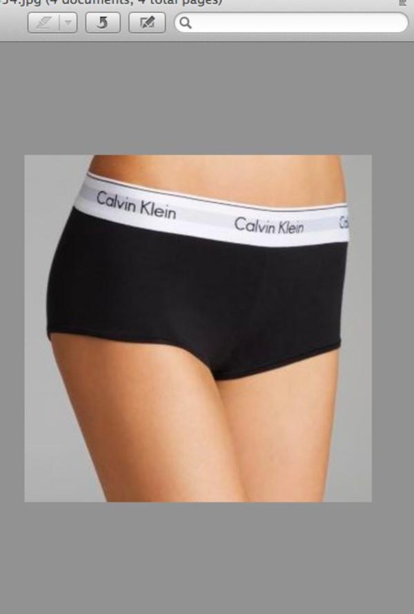 Calvin Klein Modern Cotton Boyshort Panty F3788 At