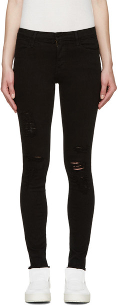 Frame Denim jeans high black
