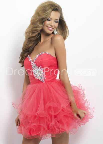 dress prom dress pink dress cute coral dress cute dress mini dress pink prom dress short dress cheap prom dresses