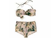 swimwear,palm tree,h&m,bikini,beautiful