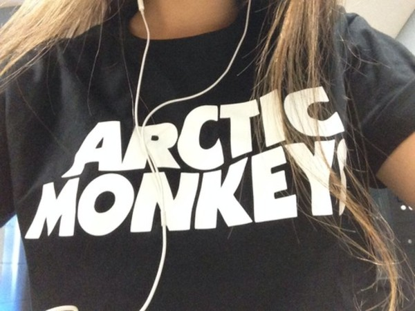 t-shirt arctic monkeys