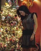 dress,tumblr,silver,silver dress,mini dress,lace dress,sleeveless,sleeveless dress,watch,new year dresses,holiday dress,holiday season