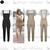 Womens Ladies Celebrity Crop Top Dungaree Pinafore Celeb Set Jumpsuit Playsuit | eBay