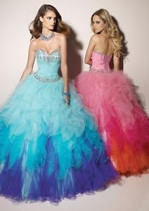 New Sweetheart Sexy Multi Color Formal Prom Party Ball Wedding Quinceanera Dress   eBay