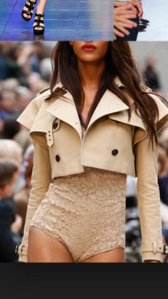 coat beige jacket