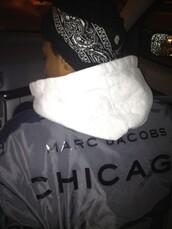 jacket,clear,transparent,black,white,chicago,marc jacobs