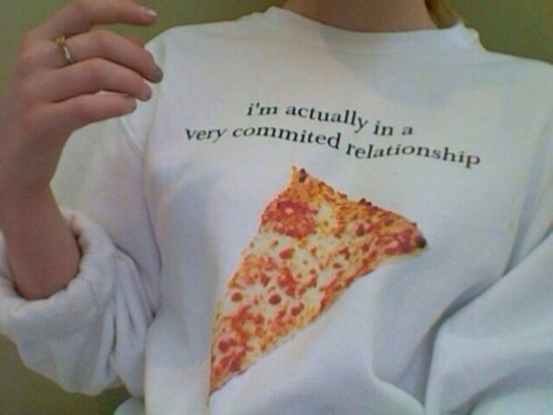 shirt pizza jumper soft grunge grunge soft grunge top