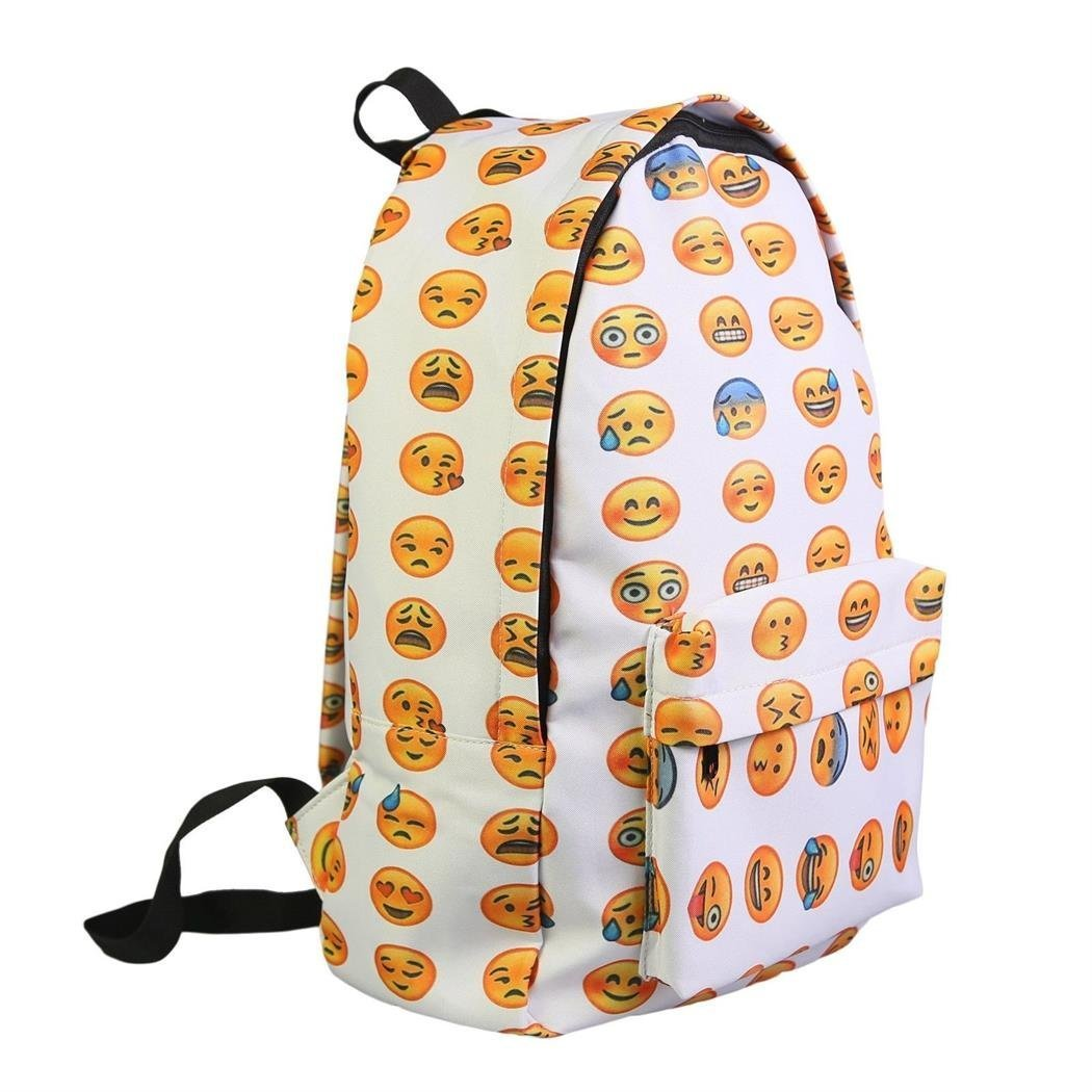 com: Aofit-j Smilely Face Casual Daypacks Emoji Backpack School ...