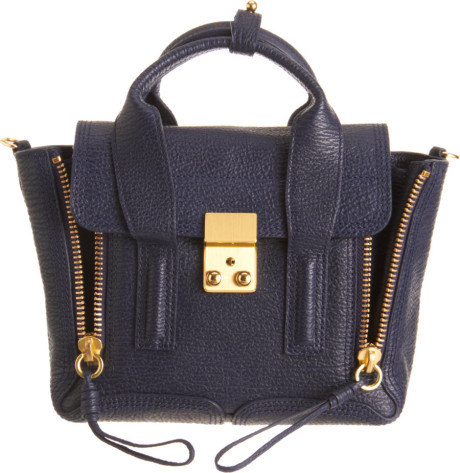 3.1 Phillip Lim Mini Pashli Satchel in Blue | Lyst