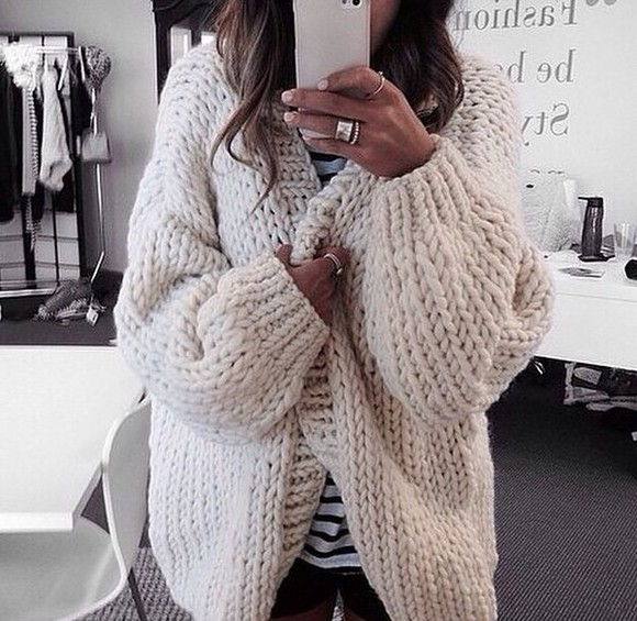 cardigan wool grey cardigan cream knitted sweater cozy sweater cozy oversized cardigan beige