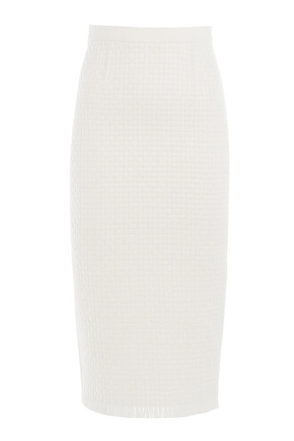 skirt pencil skirt white