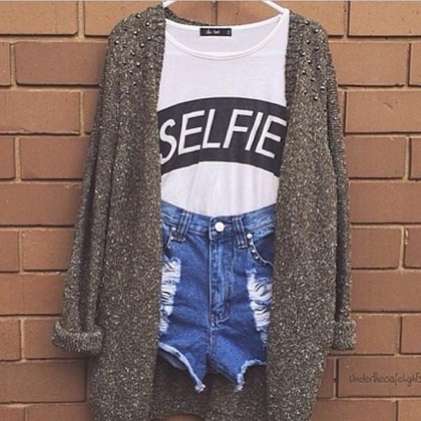 Shirt Selfie Girly Girl Teenagers Teenagers Cute