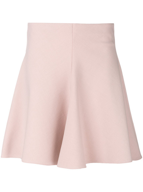 RED VALENTINO skirt skater skirt women spandex skater cotton wool purple pink