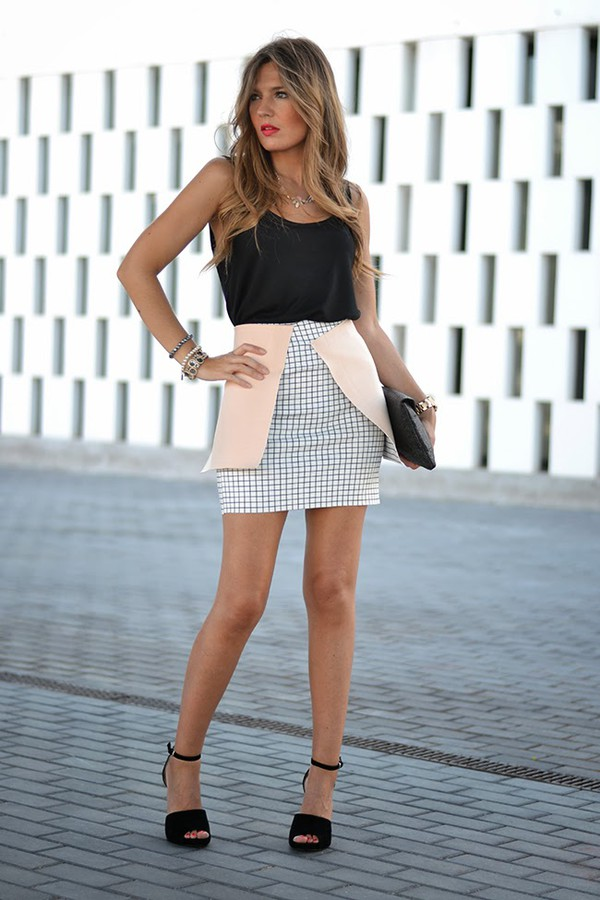 mi aventura con la moda skirt t-shirt bag jewels shoes