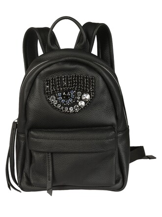 embellished backpack bag