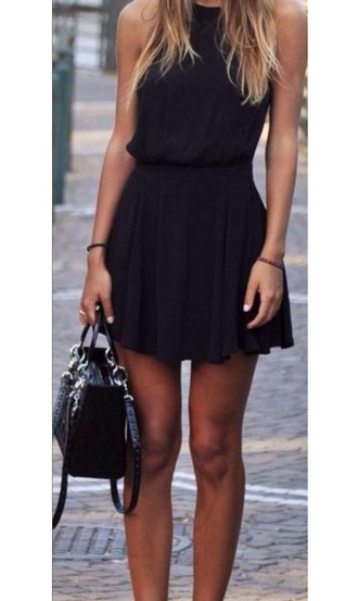 dress black short love this summer casual