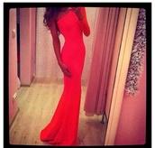 dress,maxi dress,red dress,long dress,one sleeve,pants,pajamas